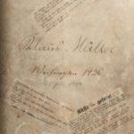 Private Mappe mit Witzen 1936-1937